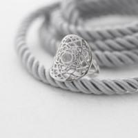 Кольцо 7 ЧАКРА САХАСРАРА, серебро-925